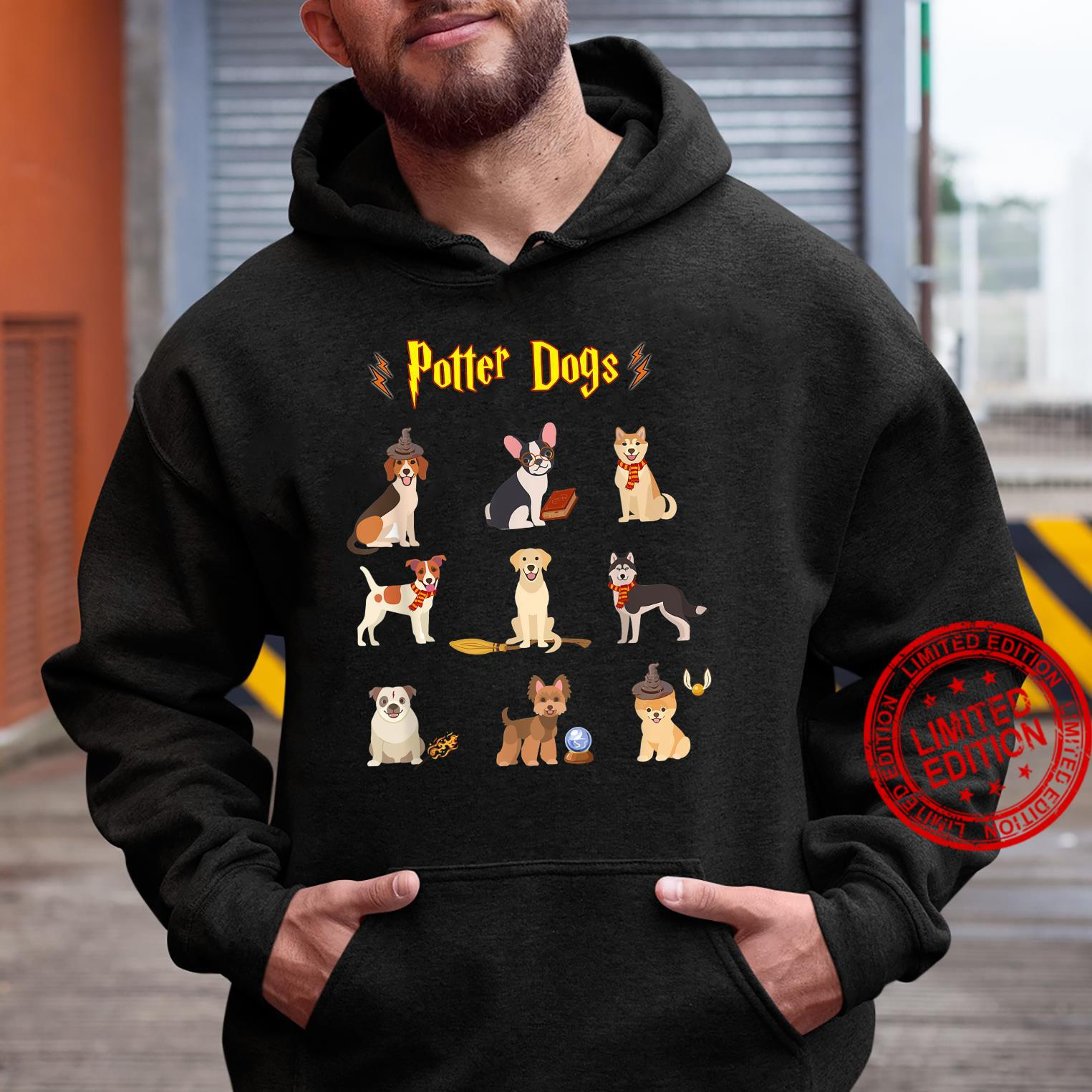 Potter Dogs Cute Potter Dog Shirt hoodie
