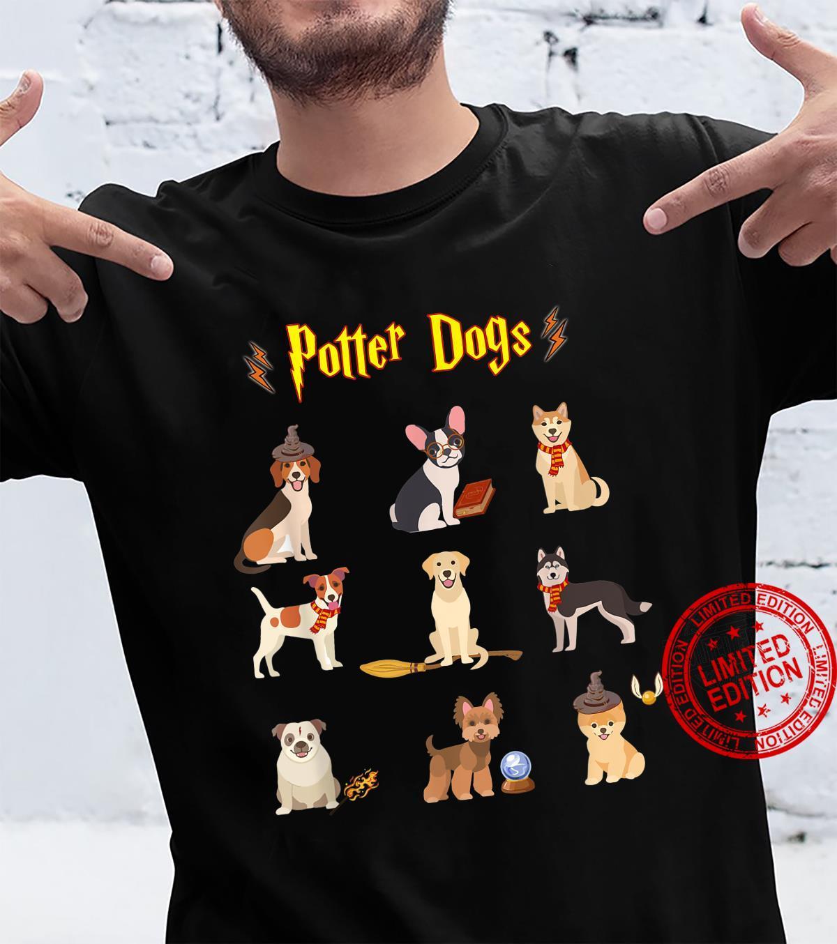 Potter Dogs Cute Potter Dog Shirt