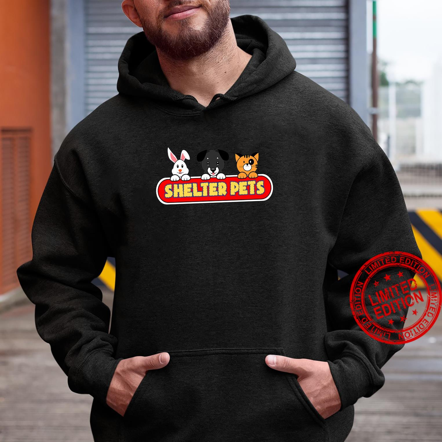 Shelter Pets for Dog Cat and Animal Rescues Adopt Don't Shop Shirt hoodie