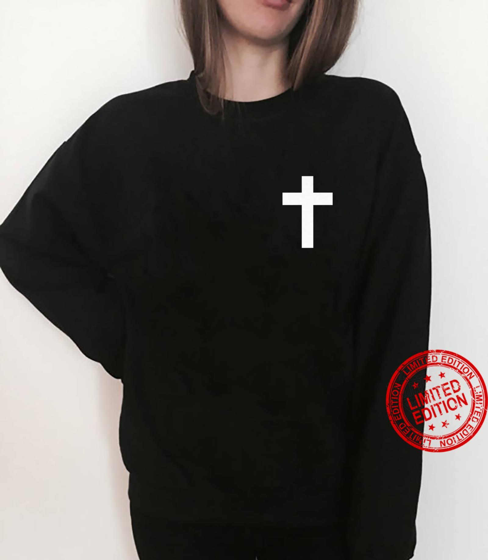 White Cross Jesus Christ Christianity God Christian Gospel Shirt sweater
