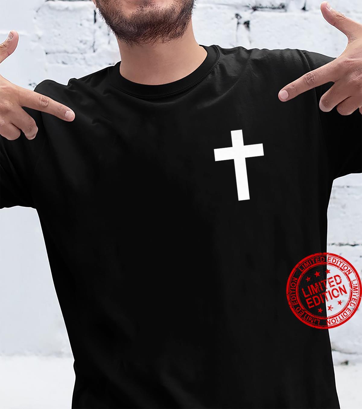White Cross Jesus Christ Christianity God Christian Gospel Shirt