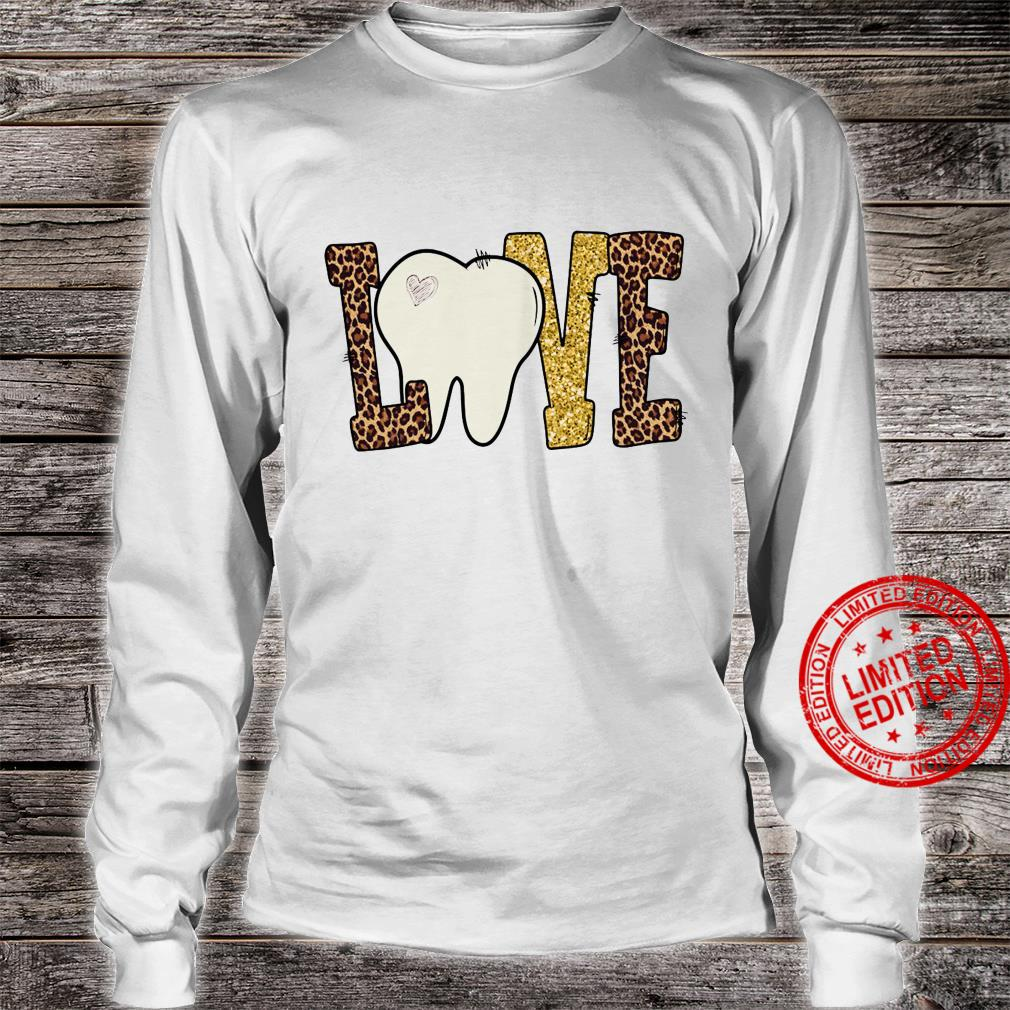 Love Tooth Shirt long sleeved