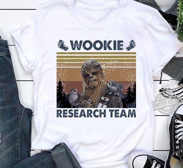 Wookie Research Team Shirt